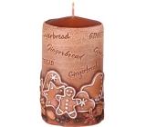 Emocio Perník Gingerbread vonná svíčka válec 60 x 110 mm