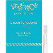 Versace Dylan Turquoise toaletní voda pro ženy 1 ml s rozprašovačem, vialka