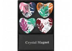 Albi Krystalové magnetky Barevné 4 kusy