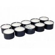 Náhrobní svíčka kalíšek WK 20 černá 20 g 10 kusů