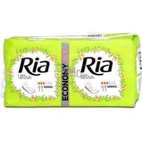 Ria Ultra Silk Normal hygienické vložky 2 x 11 kusů