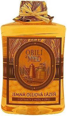 Bohemia Natur Obilí a med jemná olejová lázeň 300 ml