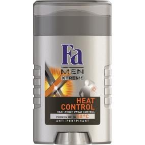 Fa Men Xtreme Heat Control antiperspirant deodorant stick pro muže 50 ml
