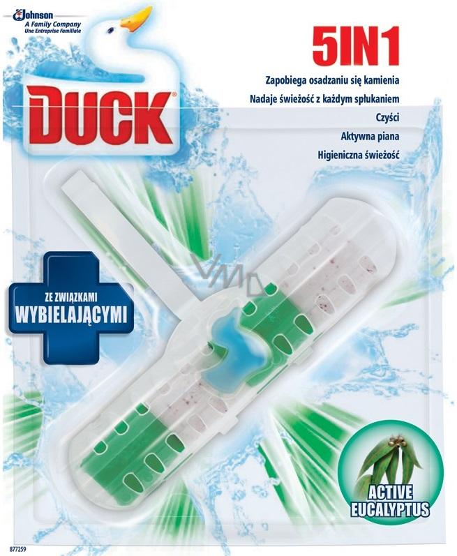 Duck 5v1 Active Eucalyptus Wc závěsný čistič s vůní 41 g
