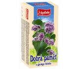 Apotheke Pro dobrou paměť bylinný čaj s ginkgo bilobou 25 x 1,5 g
