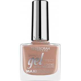 Deborah Milano Gel Effect Nail Enamel gelový lak na nehty 01 Pink Pulse 11 ml