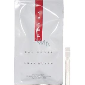 Prada Luna Rossa Eau Sport toaletní voda pro muže 1,5 ml s rozprašovačem, Vialka