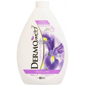 Dermomed Talc & Iris tekuté mýdlo náhradní náplň 300 ml