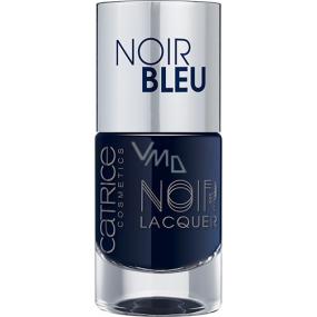 Catrice Noir Noir Lacquer lak na nehty 04 Noir Bleu 10 ml