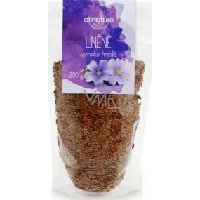 Allnature Lněné semínko hnědé 200 g