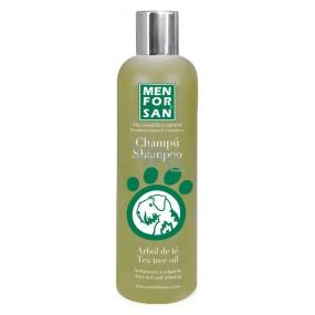 MenForSan Přírodní šampon proti svědění s Tea Tree olejem pro psy 300 ml