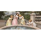 Bohemia Gifts & Cosmetics Mléčná čokoláda Kamarádce retro, dárková 100 g