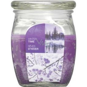 Bolsius Aromatic Winter Time - Zimní čas vonná svíčka ve skle 92 x 120 mm 830 g, doba hoření 100 hodin