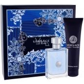 Versace pour Homme toaletní voda pro muže 100 ml + sprchový gel 150 ml, dárková sada