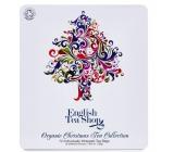 English Tea Shop Bio Vánoční strom 72 nálevových sáčků dárková kazeta čajů
