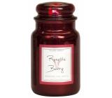 Village Candle Růže a červené ovoce - Rosette Berry vonná svíčka ve skle 2 knoty 602 g