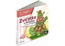 Albi Kouzelné čtení interaktivní minikniha Zvěř z divočiny, věk 2+