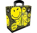 Smiley World Yellow koupelový sprchový gel 300 ml +pytlík dárková sada pro děti