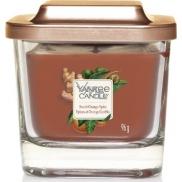Yankee Candle Sweet Orange Spice - Sladký pomeranč a koření sojová vonná svíčka Elevation malá sklo 1 knot 96 g