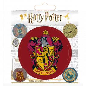 Epee Merch Harry Potter - Nebelvír Sada samolepek 5 kusů