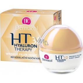 Dermacol Hyaluron Therapy 3D Remodelační noční krém 50 ml