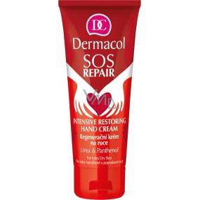 Dermacol SOS Repair Intensive Restoring Hand Cream hloubková intenzivní regenerace a hydratace pro suché a popraskané ruce 75 ml