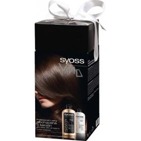 Syoss Keratin Premium šampon 500 ml + Syoss Keratin Premium kondicionér 500 ml, kosmetická sada