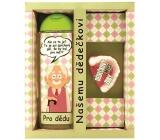Bohemia Pro nejlepšího dědečka sprchový gel 300 ml + ručně vyráběné mýdlo 70 g, kosmetická sada
