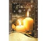 Albi Hrací přání do obálky K Vánocům Alžbětínská serenáda Karel Gott 14,8 x 21 cm