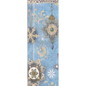 Nekupto Dárková papírová taška na láhev 33 x 10 x 9 cm Vánoční 1254 40 WLH