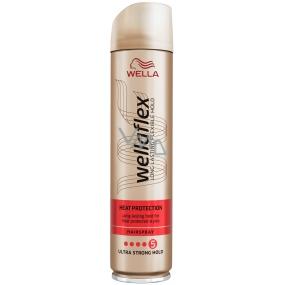 Wella Wellaflex Heat Protection ultra silné zpevnění lak na vlasy 250 ml
