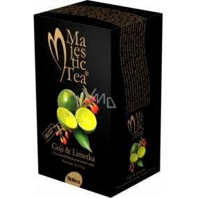 Biogena Majestic Tea Goji & limetka čaj pro sílu a potenci 20 x 2,5 g