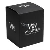 WoodWick Dárková krabička na střední svíčku sklo 9,9 x 9,9 x 12,2 cm