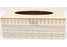 Nekupto Home Decor Box na papírové kapesníčky 24 x 12 x 9 cm