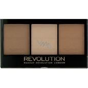 Makeup Revolution Ultra Sculpt & Contour Kit paletka na tvář Ultra Light/Medium C04 11 g