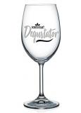 Nekupto Na Zdraví sklenice na víno Dobrovolný degustátor 440 ml