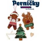 Albi Perníček, voňavá vánoční ozdoba bez textu sob 8 cm