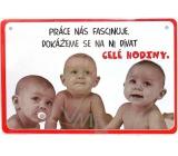 Nekupto Humor po Česku humorná cedulka 010 15 x 10 cm 1 kus
