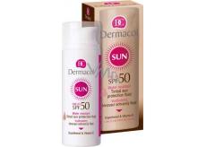 Dermacol Sun Tinted Sun Protection SPF50 voděodolný tónovací ochranný fluid 50 ml