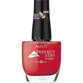 Astor Perfect Stay Gel Shine 3v1 lak na nehty 312 Deep Scarlet 12 ml