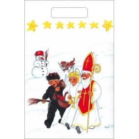 Taška igelitová Sněhulák, pes 36 x 27 cm