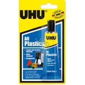 Uhu All Plastics Univerzální lepidlo pro studené svařování slepitelných plastů 33 ml