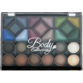 Body Collection Opulent Eyes 27 očních stínů kosmetická sada