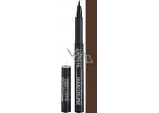 Gabriella Salvete Liquid Eyeliner In Pen tekuté oční linky ve fixu 02 Brown 1,2 ml