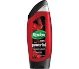Radox Men Feel Powerful Caffeine & Guarana 2v1 sprchový gel a šampon pro muže 250 ml