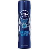 Nivea Men Fresh Active antiperspirant deodorant sprej 150 ml