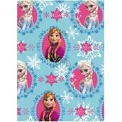 Disney Frozen Balicí papír Princezny modrý 70 x 200 cm