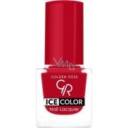 Golden Rose Ice Color Nail Lacquer lak na nehty mini 186 6 ml