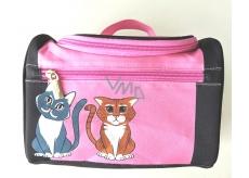 Albi Original Cestovní kufřík Kočka 24 cm × 16 cm × 13 cm