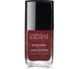 Gabriella Salvete Longlasting Enamel lak na nehty 20 Sangria 11 ml